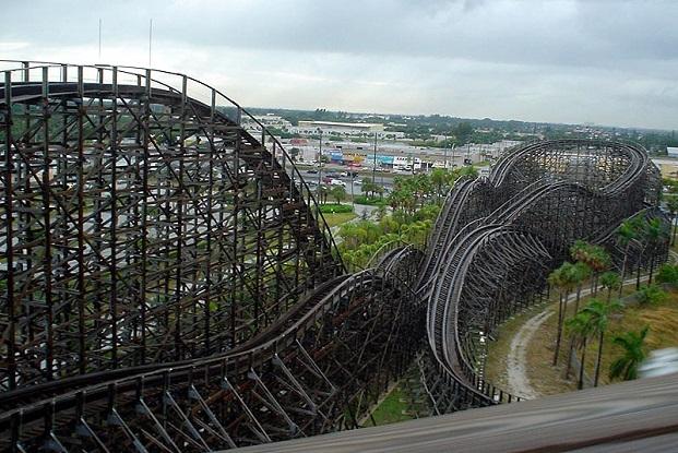 Fort lauderdale roller coaster
